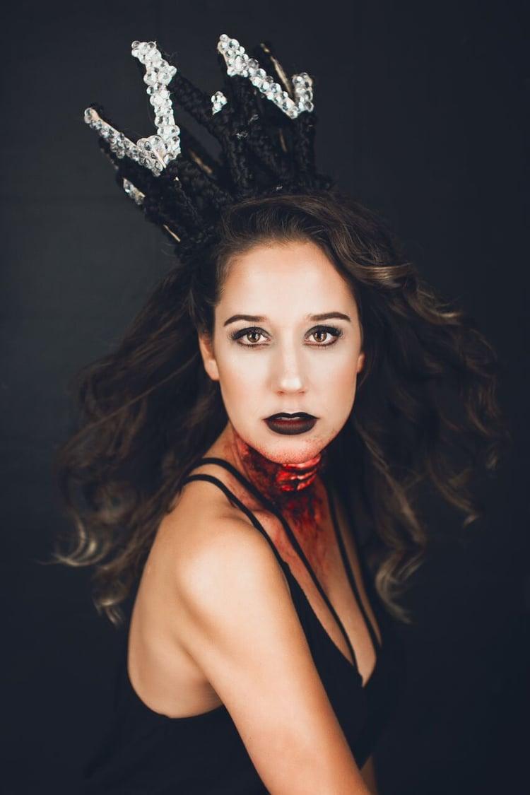 Halloween hair and Make up