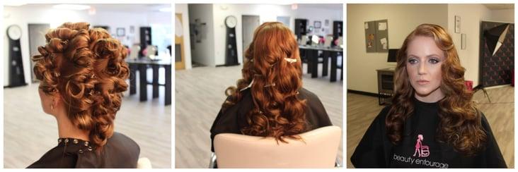 process of curls